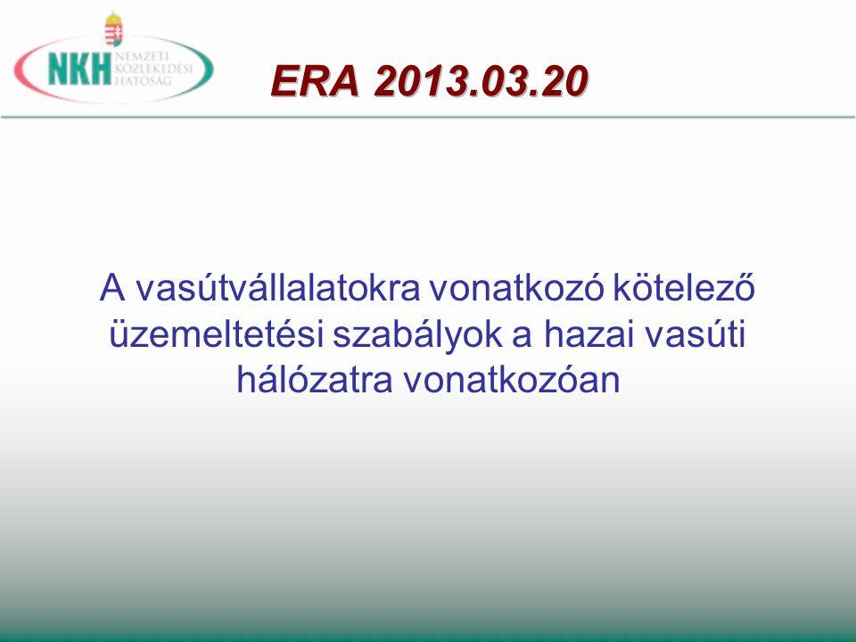 Vasúti pályahálózatok a Vtv.2.
