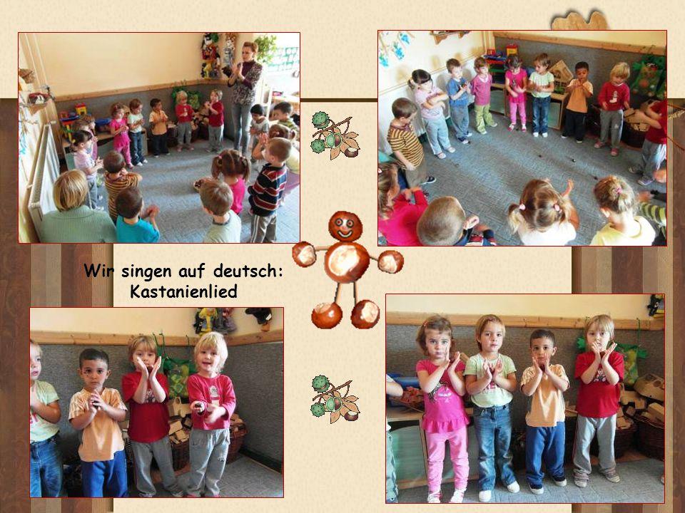 Wir singen auf deutsch: Kastanienlied