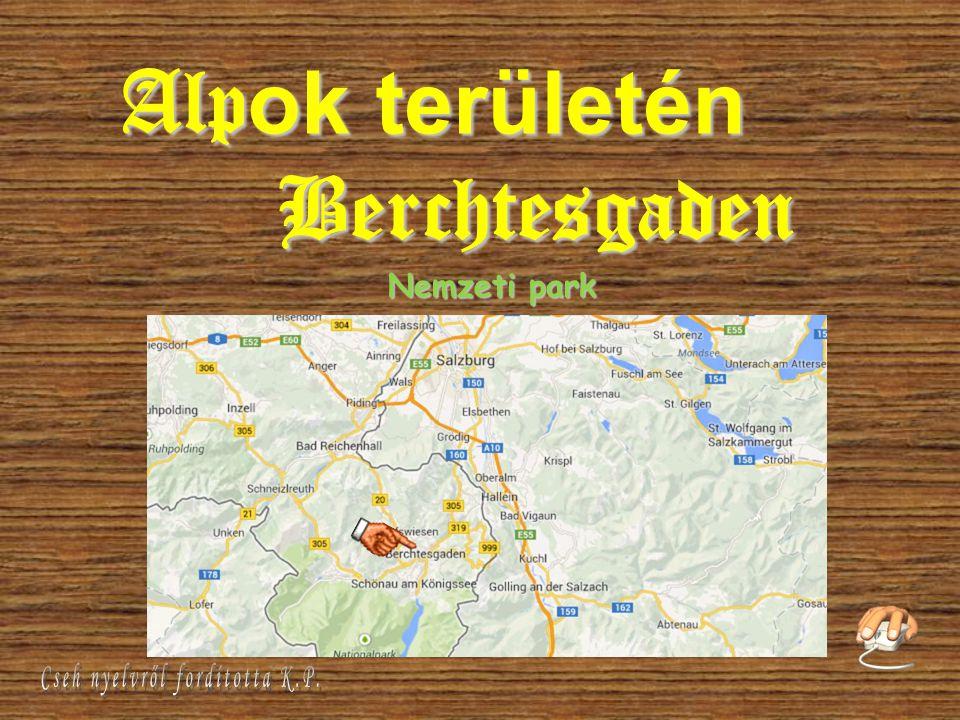 Alp ok területén Berchtesgaden Nemzeti park
