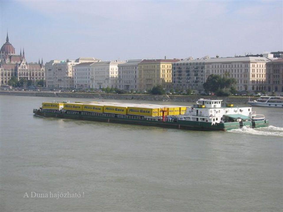 A Duna hajózható !