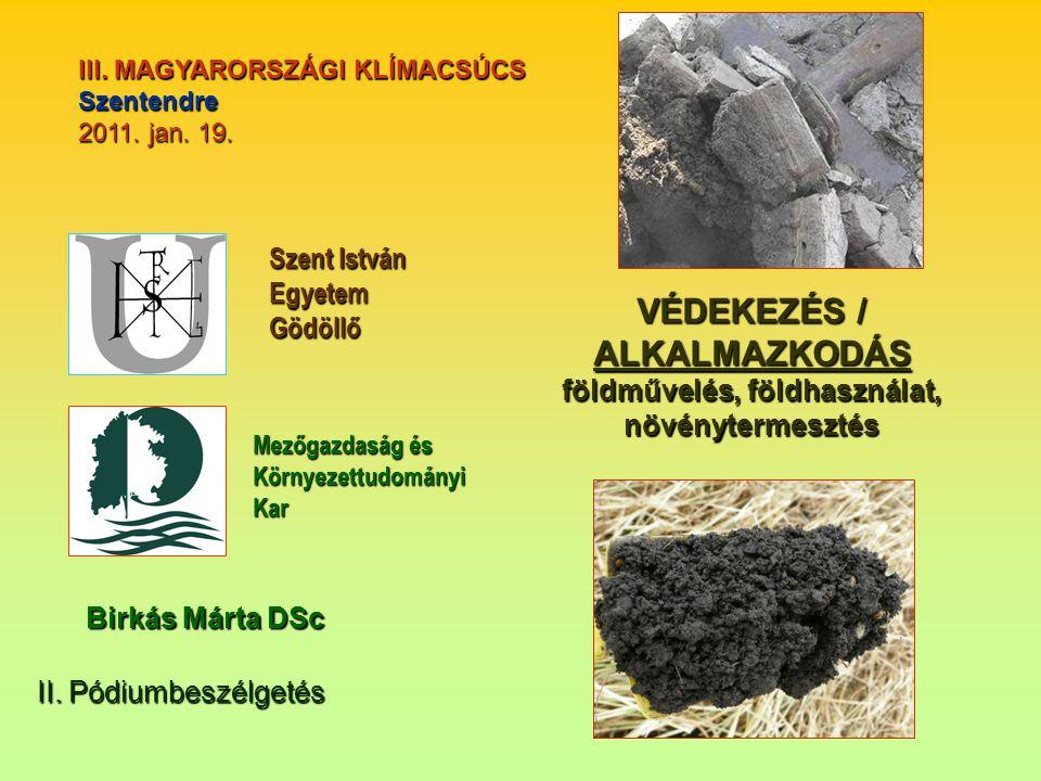 III. MAGYARORSZÁGI KLÍMACSÚCS Szentendre 2011. jan.
