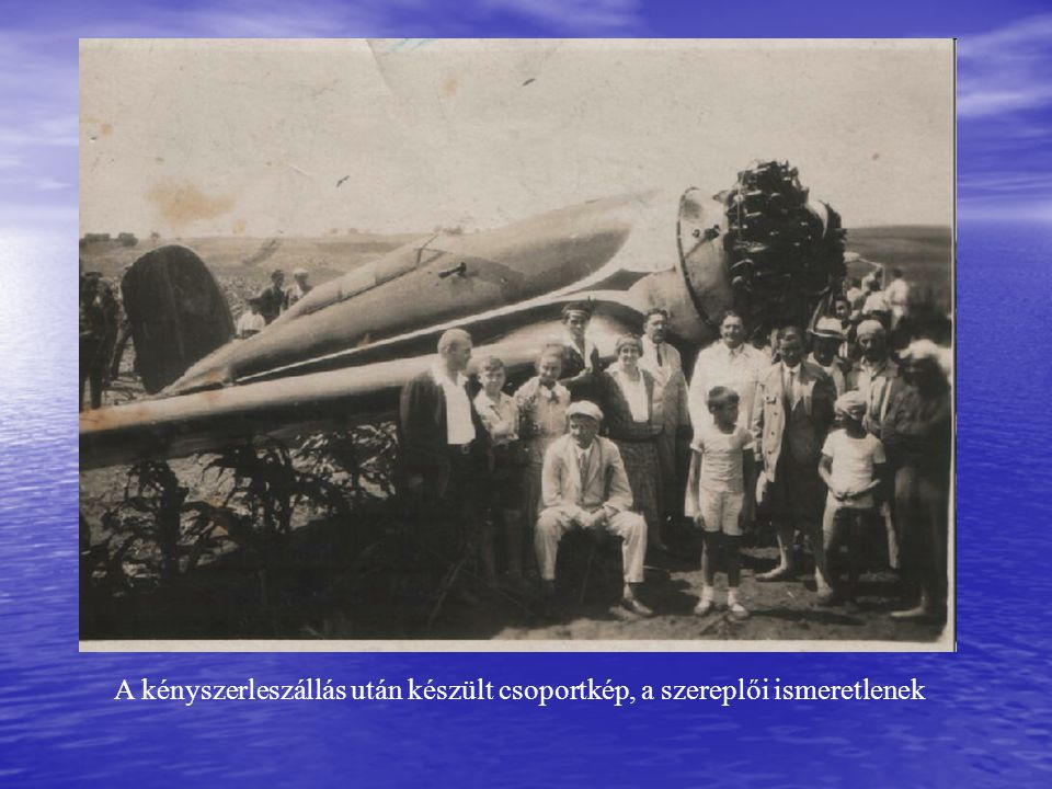 A rekordereket nemzeti hősként fogadták 1931.