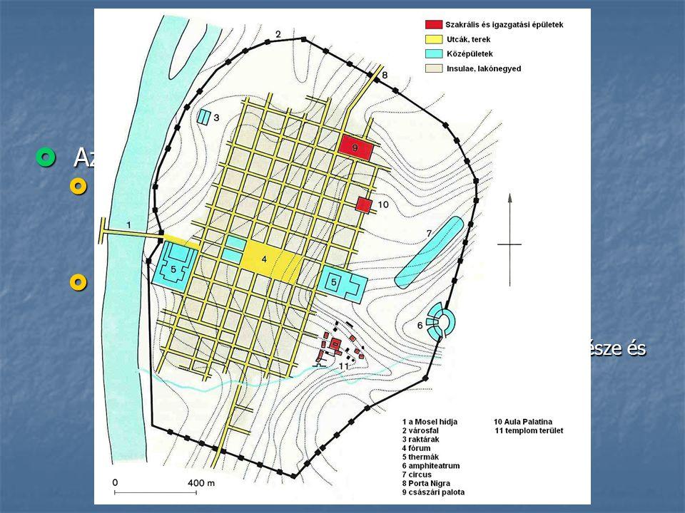 Történeti áttekintés  Az ókor II.  Görögország  nincs általános érvényű rendszer  az elrendezés ritkán zárt vagy geometrikus  a városfal a függet