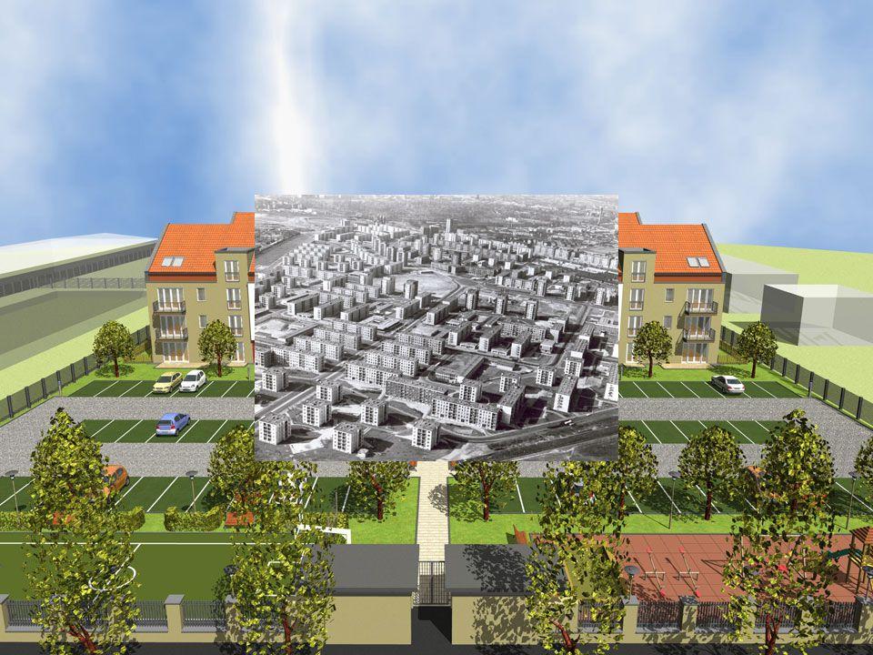 A védhető terület  A lakókörnyezet és a közösségi kontroll  sorházas beépítés  társasházas övezet  lakópark  lakótelep