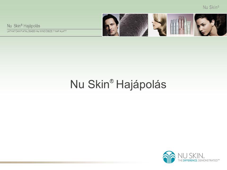 Nu Skin ® Hajápolás LÁTHATÓAN FIATALOSABB HAJ MINDÖSSZE 7 NAP ALATT Nu Skin ® Nu Skin ® Hajápolás