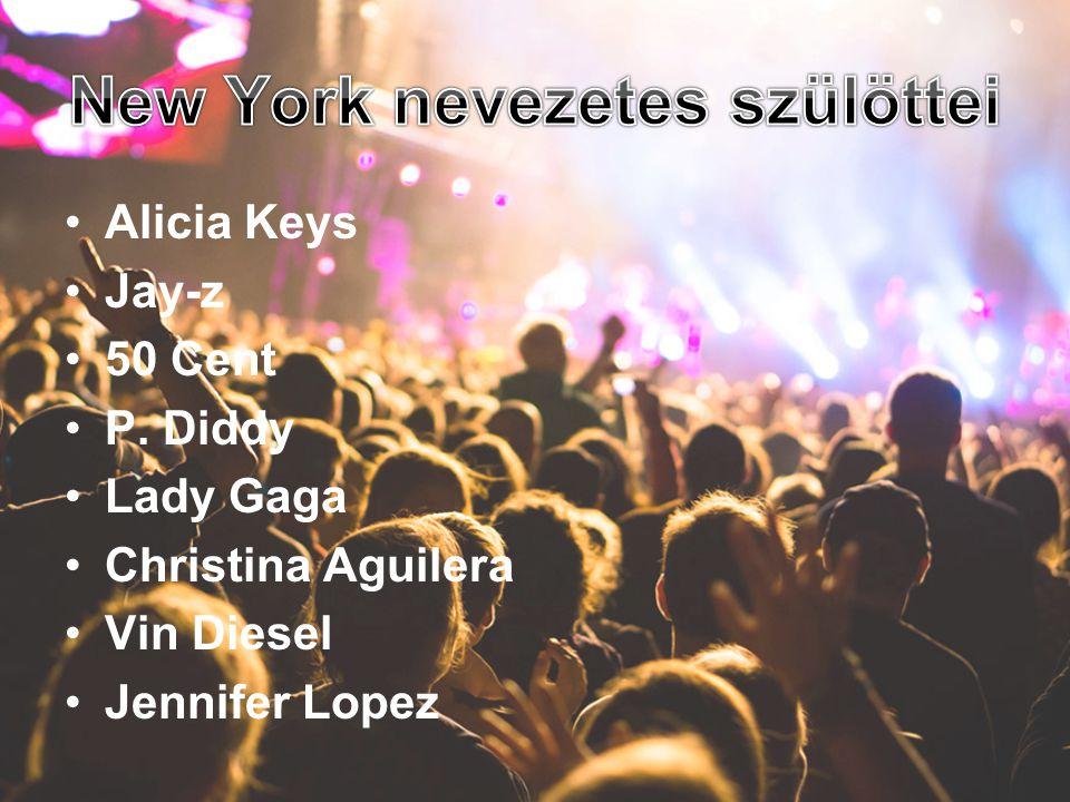 •Alicia Keys •Jay-z •50 Cent •P. Diddy •Lady Gaga •Christina Aguilera •Vin Diesel •Jennifer Lopez
