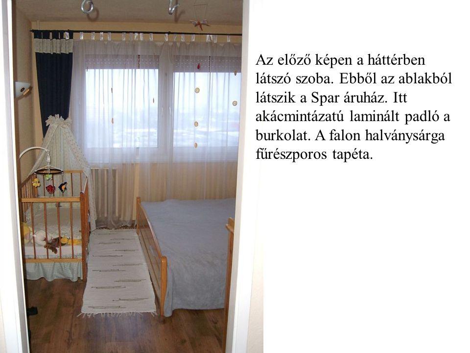 A szoba egy másik oldala. Ami nem fért rá az előző képre.