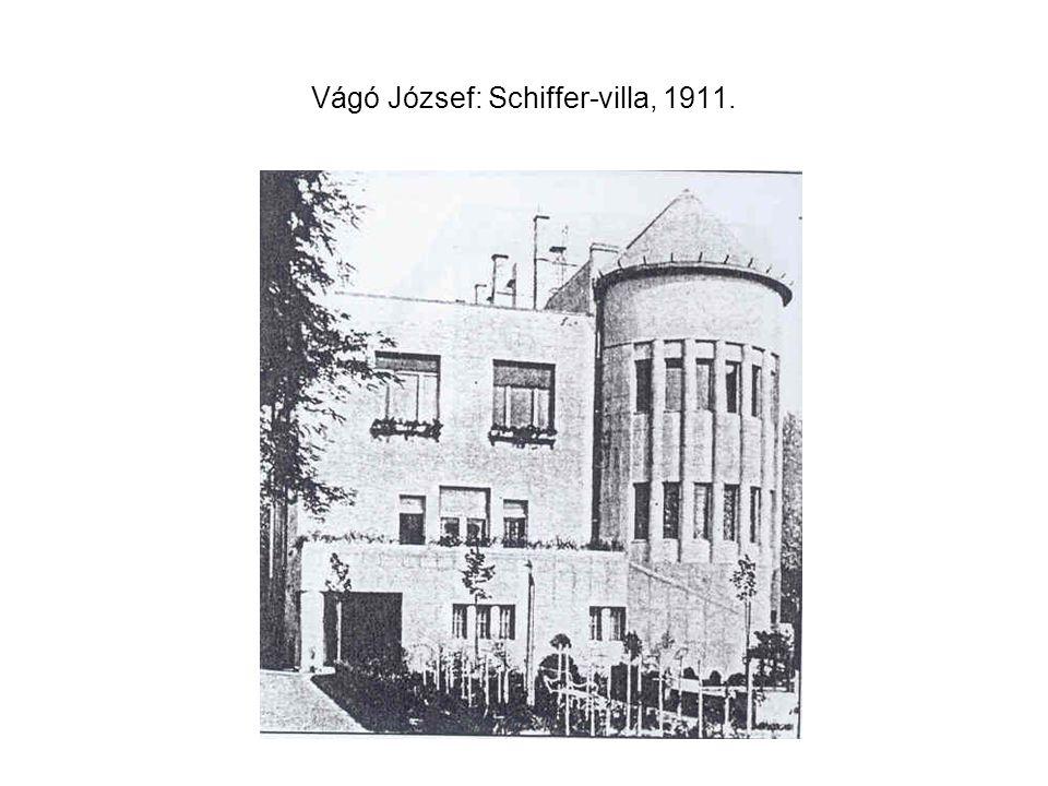 Vágó József: Schiffer-villa, 1911.