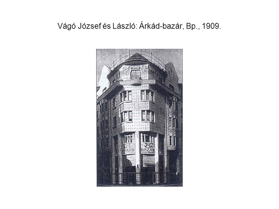 J. Gocár: Ikerház, Prága, 1912-13.