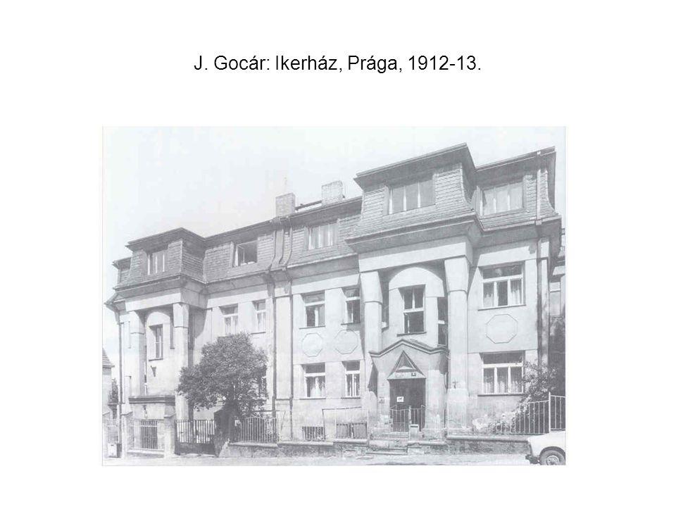 J. Hoffmann: Skywa-Primavesi villa, Bécs, 1913-15.