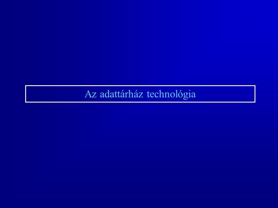 Az adattárház technológia