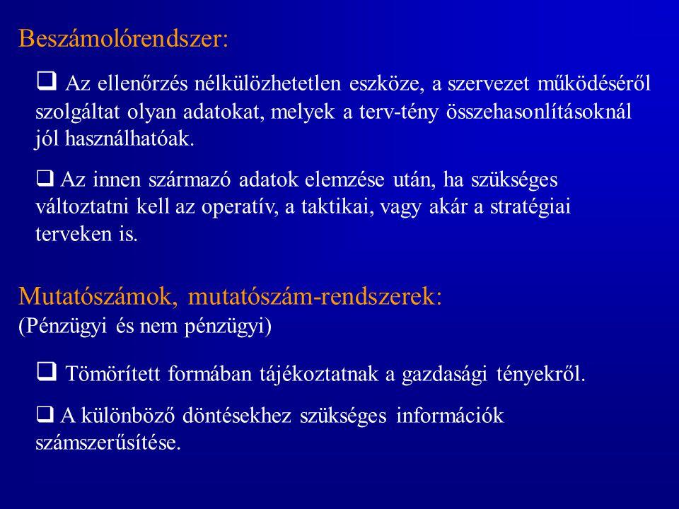 A tervezés lépései 1)Az információigény felmérése 2)Az egyedek és kapcsolatok leírása, vagyis a modell meghatározása 3)A tényadatok kiválasztása 4)A dimenziók meghatározása 5)A hierarchiák kiépítése az egyes dimenziókban 6)A dimenziók tulajdonságainak meghatározása 7)Az adatcella változóinak megadása