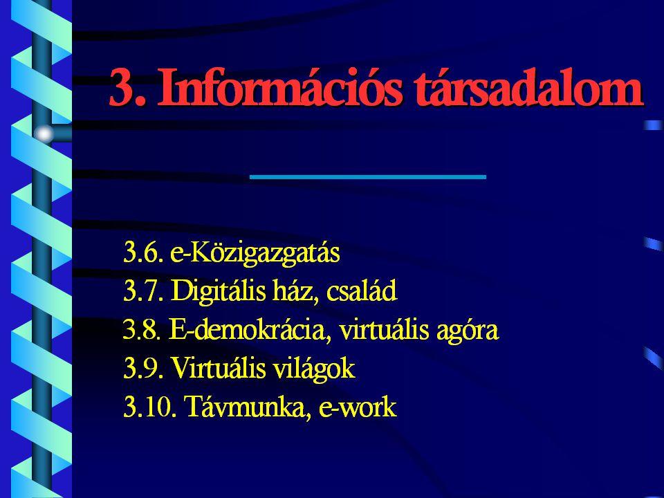 3.Rész: Hálózat One 4.