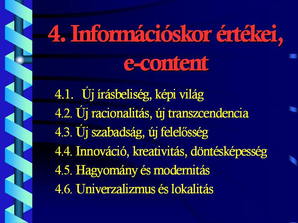 3.Rész: Hálózat One 5. ÚJ HÁLÓZAT (Hálózat ONE) KONCEPCIÓJA AZ ÚJ IRÁNYELVEK 1.