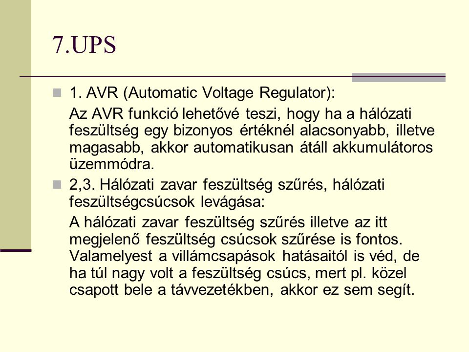 7.UPS  4.