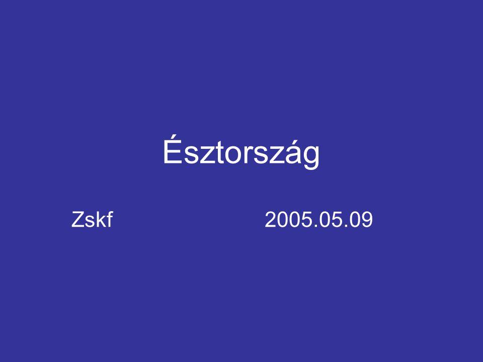 Észtország Zskf2005.05.09