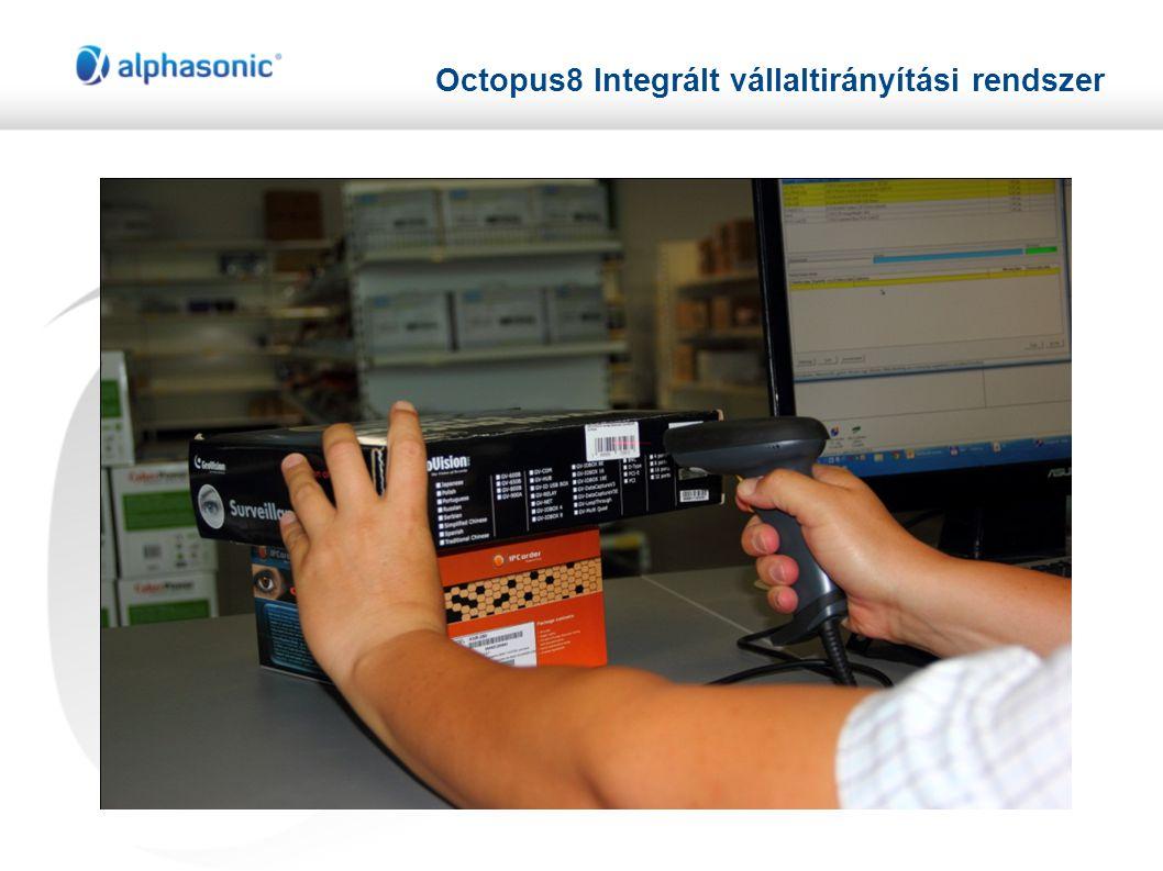Octopus8 Integrált vállaltirányítási rendszer