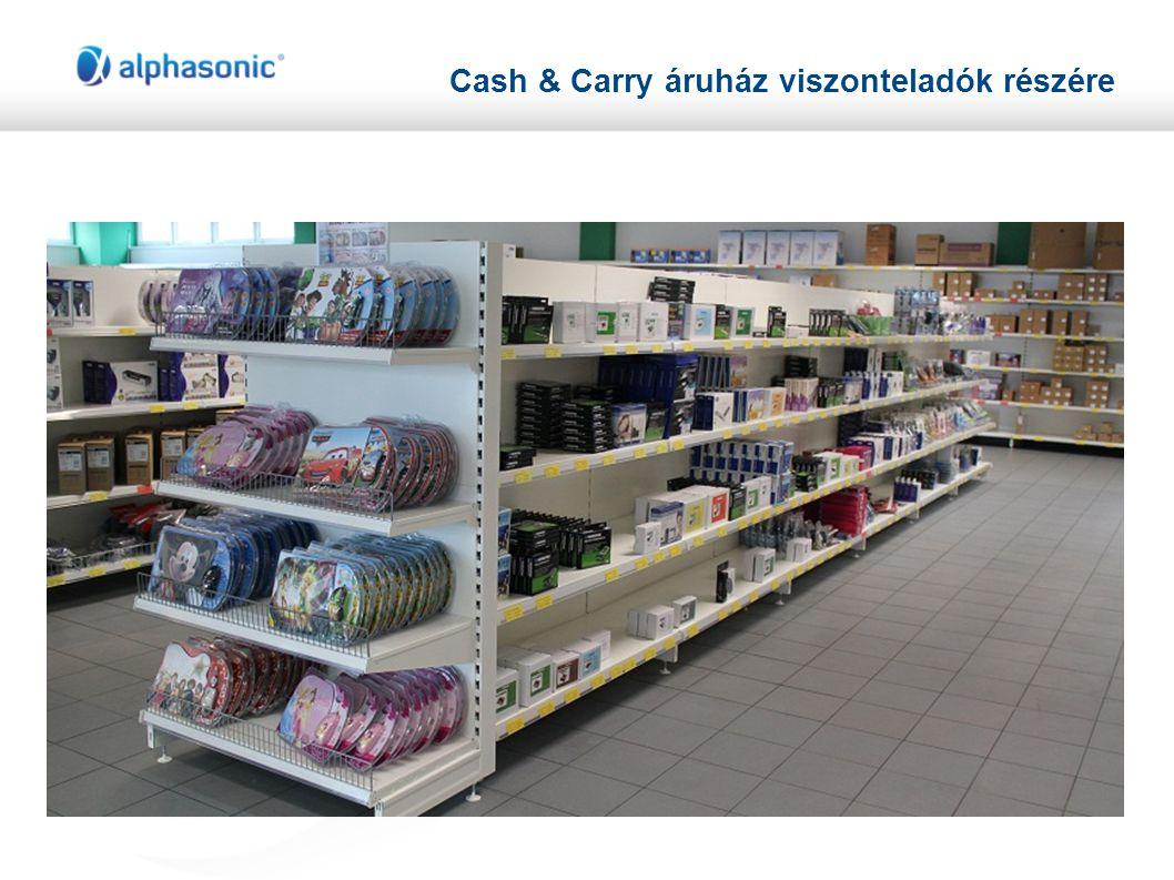 Cash & Carry áruház viszonteladók részére