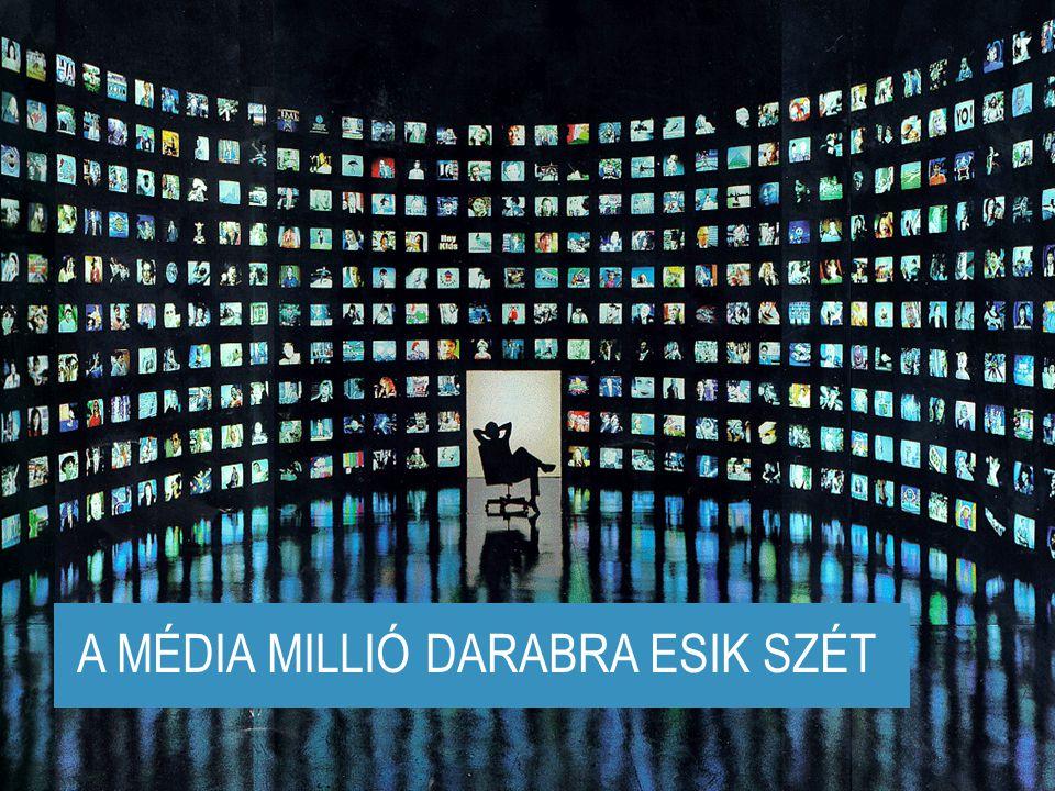 www.kirowski.hu linked by isobar 2005.04.05.ÚJ MARKETING-ÚJ ÜGYNÖKSÉG 6 Media is fragmenting A MÉDIA MILLIÓ DARABRA ESIK SZÉT