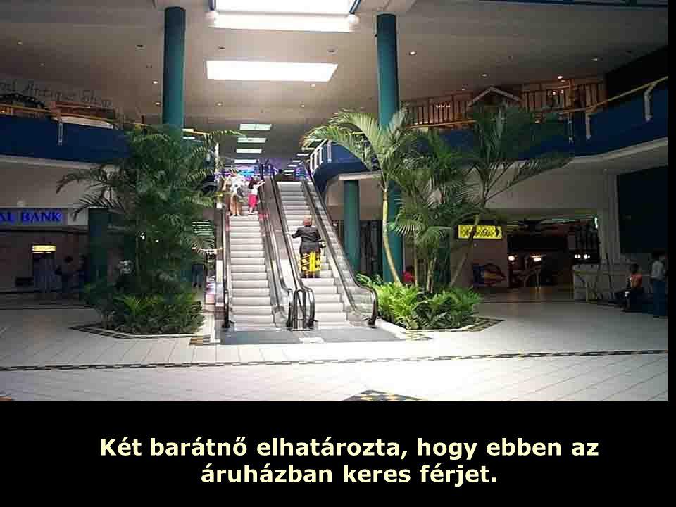 Ria Slides Két barátnő elhatározta, hogy ebben az áruházban keres férjet.