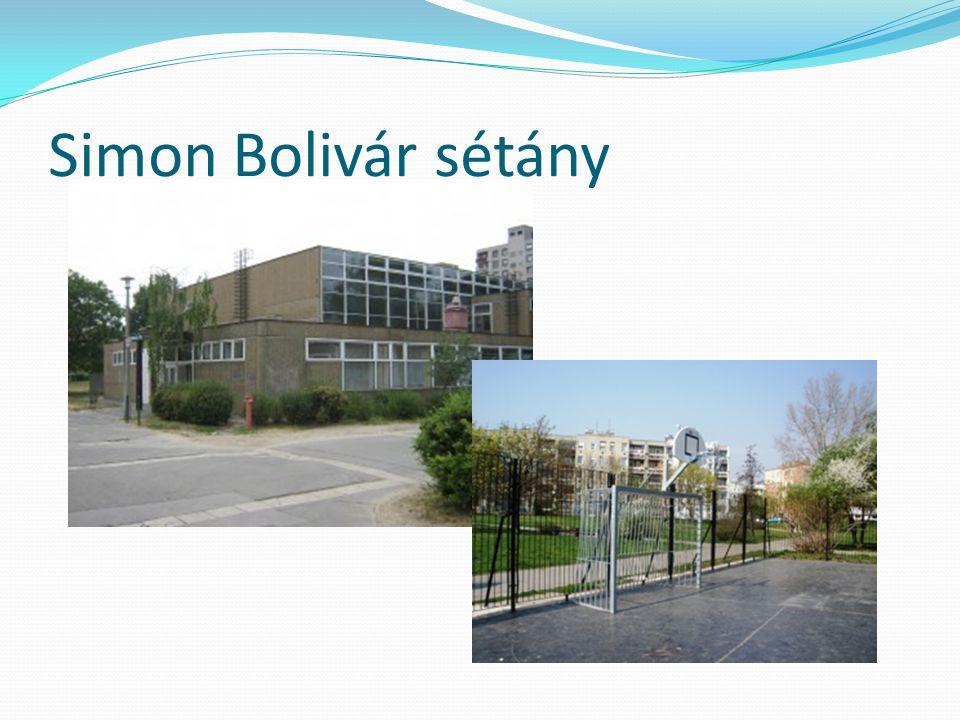 Simon Bolivár sétány