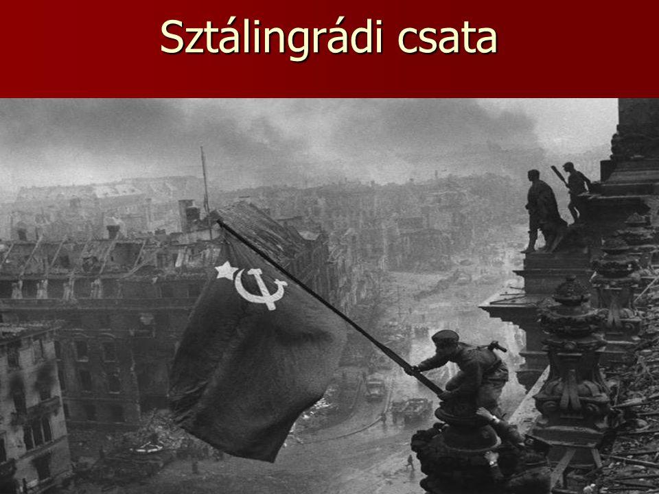 Kapituláció, szovjet győzelem  A körülzárt német csapatok egyre inkább szorultak vissza a belvárosba.