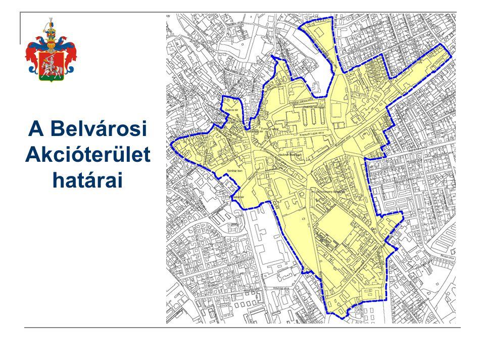 A Belvárosi Akcióterület határai