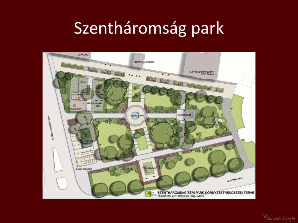 Szentháromság park © Baráth László