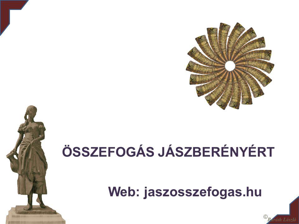 ÖSSZEFOGÁS JÁSZBERÉNYÉRT Web: jaszosszefogas.hu © Baráth László