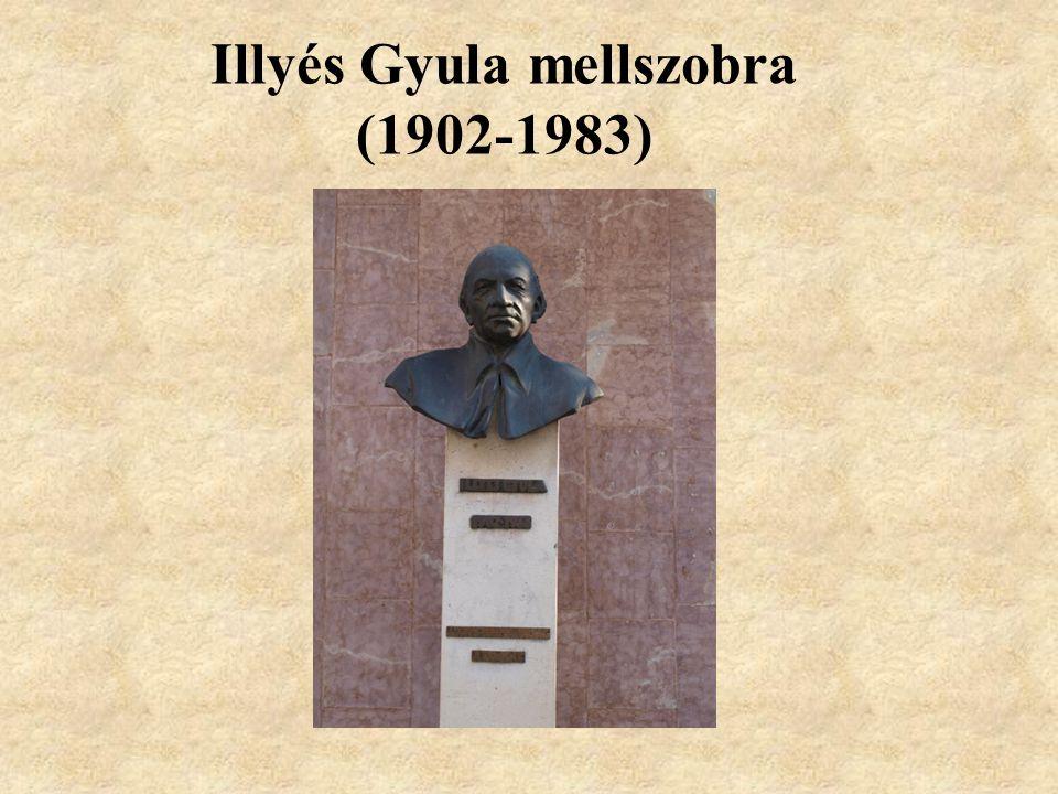 Illyés Gyula mellszobra (1902-1983)