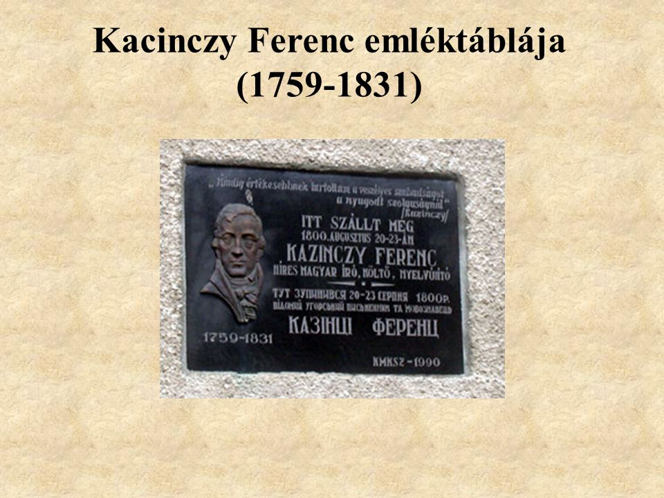 Kossuth Lajos emléktáblája (1802-1894)