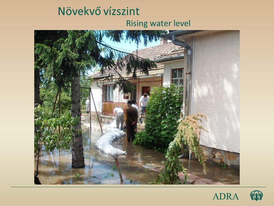 ADRA Növekvő vízszint Rising water level