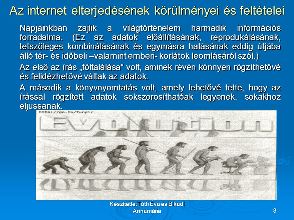 Készítette:Tóth Éva és Bikádi Annamária14 Internet-hozzáféréssel rendelkező amerikai háztartások számának alakulása