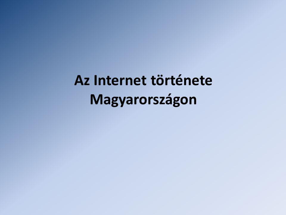 Az Internet története Magyarországon