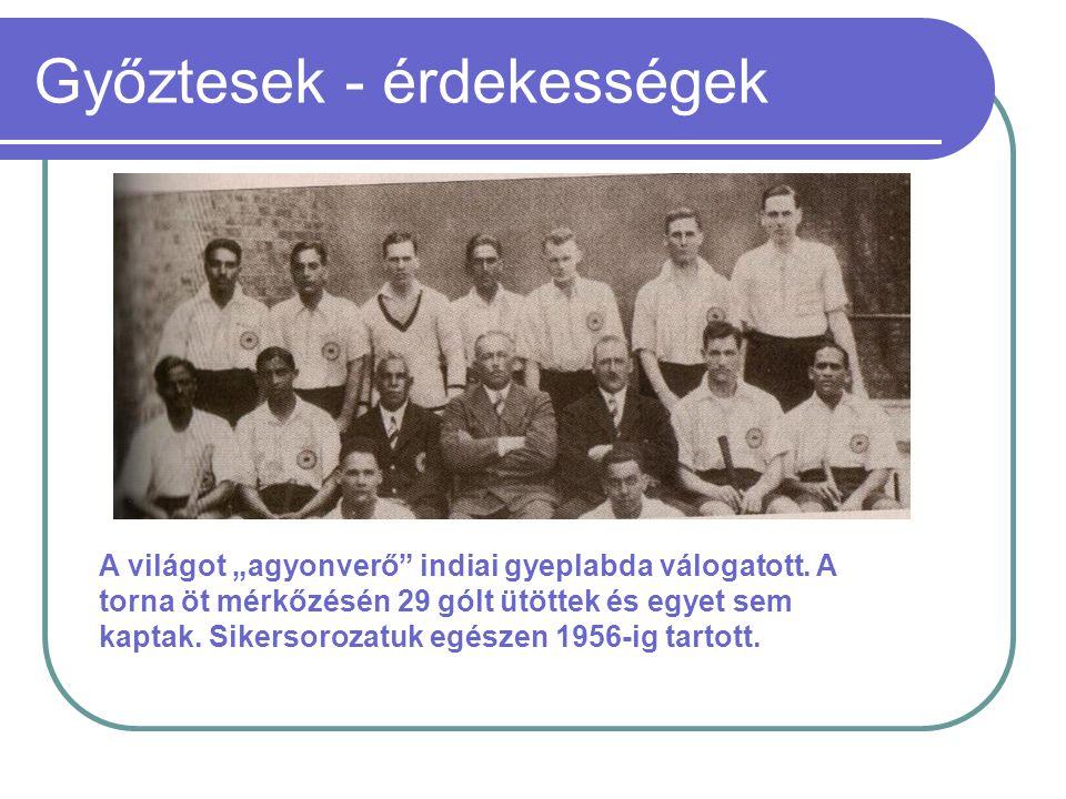 Magyar győztesek Kárpáti Károly 1906 - 1996 A harmadik olimpia részvétel hozta meg számára az aranyat.