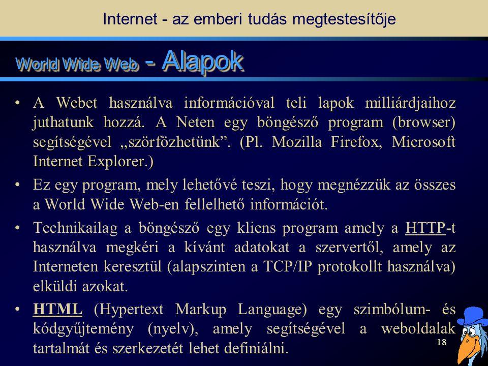 17 Mi a Web.