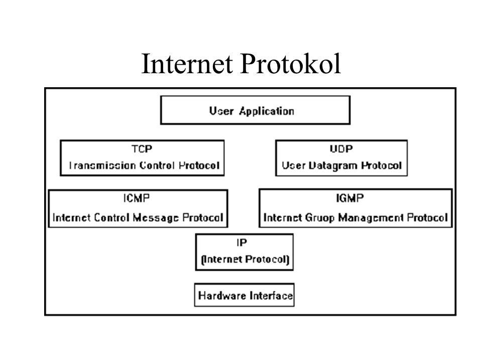 Internet cím •hostid - gép azonosító •netid - hálózat azonosító –RMKI hálózat: 192.102.6.0 & 192.102.7.0