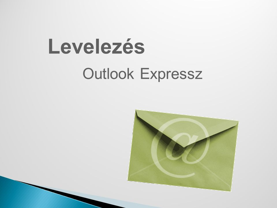 Levelezés Outlook Expressz