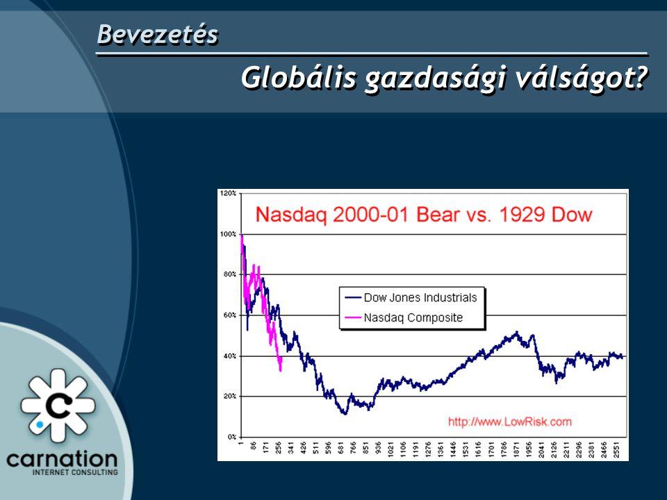 Bevezetés Globális gazdasági válságot