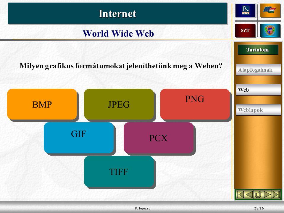 Tartalom InternetInternet SZT 9.