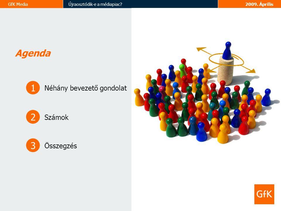 GfK MediaÚjraosztódik-e a médiapiac 2009.