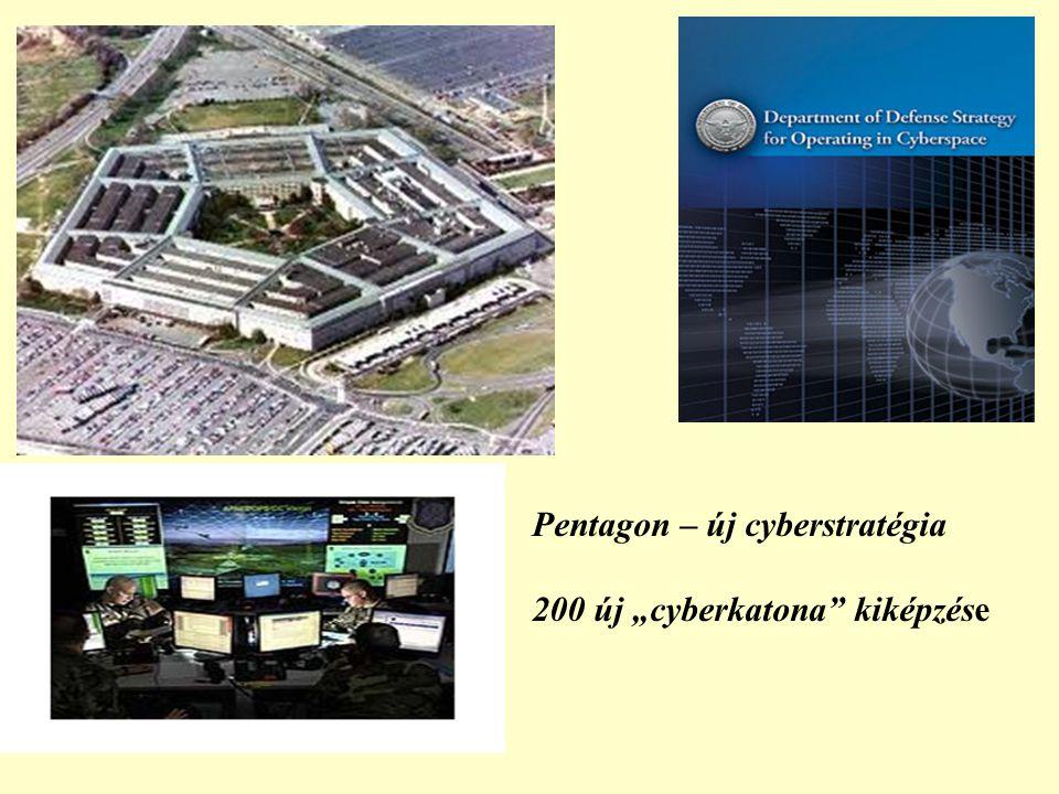 """Pentagon – új cyberstratégia 200 új """"cyberkatona kiképzése"""
