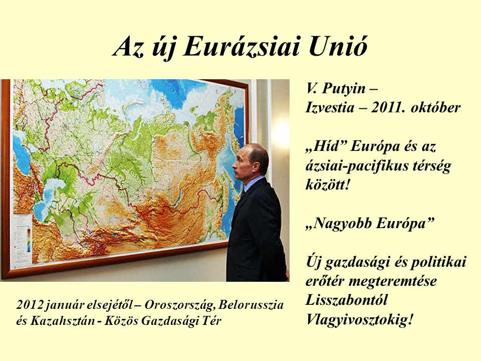 Az új Eurázsiai Unió V.Putyin – Izvestia – 2011.