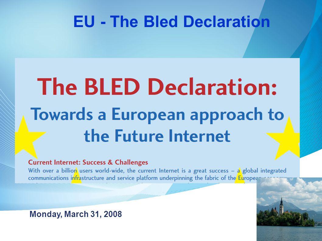 """Az Internet fejlesztése az európai versenyképesség jövője """"The Internet will be a catalyst for much of our Innovation and prosperity in the future."""