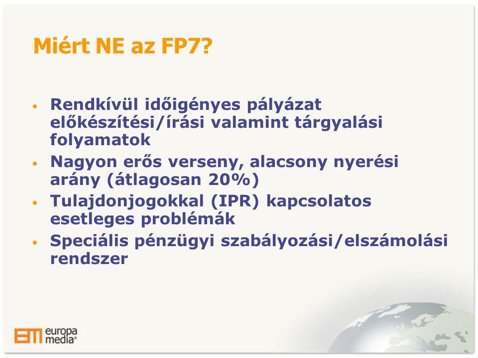 Miért NE az FP7.