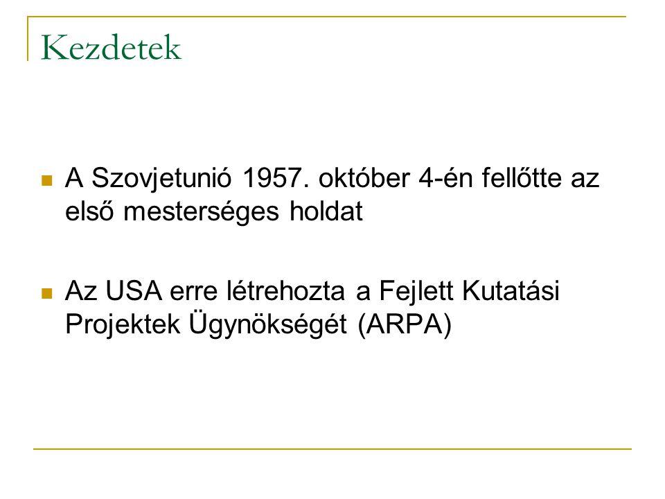 Kezdetek  A Szovjetunió 1957.