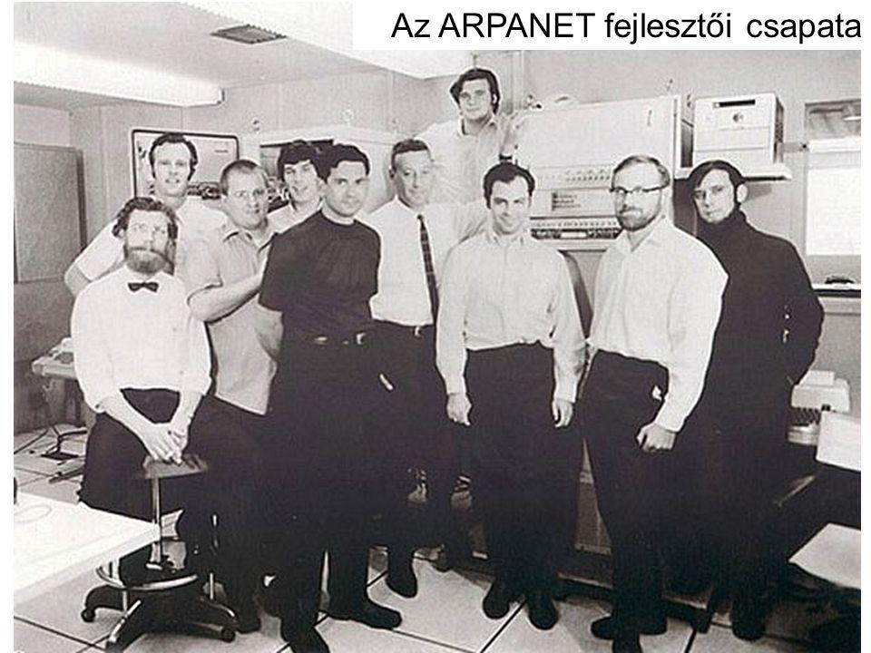 Az ARPANET fejlesztői csapata