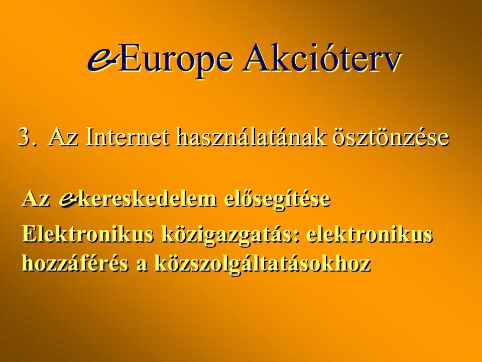 2.Befektetés az emberekbe és az ismeretekbe Az európai ifjúság beléptetése a digitális korszakba Munka a tudásalapú gazdaságban Mindenki részvétele a
