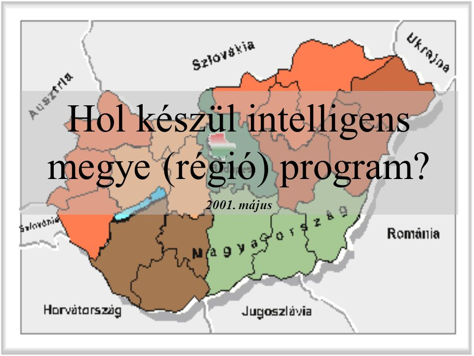 Hol készül intelligens megye (régió) program? 2001. május