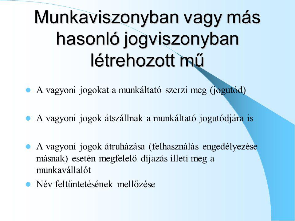 Árva művek felhasználásának engedélyezése (2009.jan.